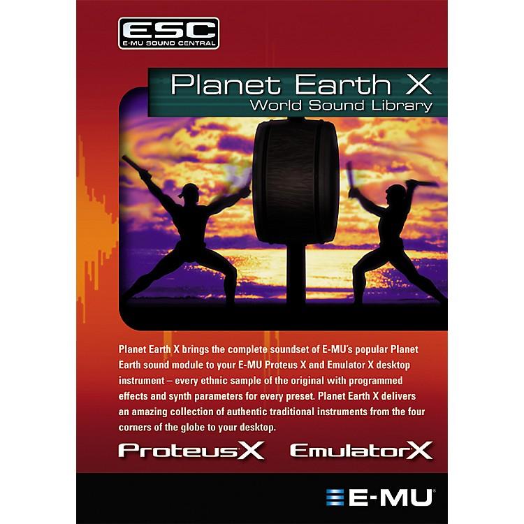 E-MuPlanet Earth X World Sound Library