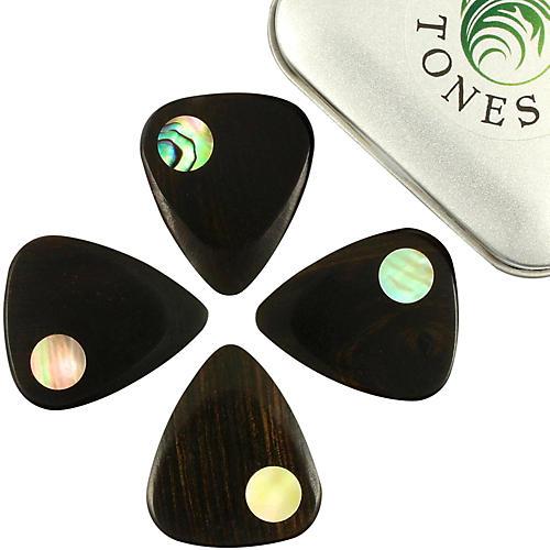 Timber Tones Planet Tones Mixed Tin of 4 Guitar Picks-thumbnail