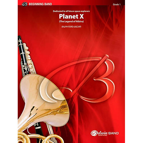 BELWIN Planet X Concert Band Grade 1 (Very Easy)-thumbnail
