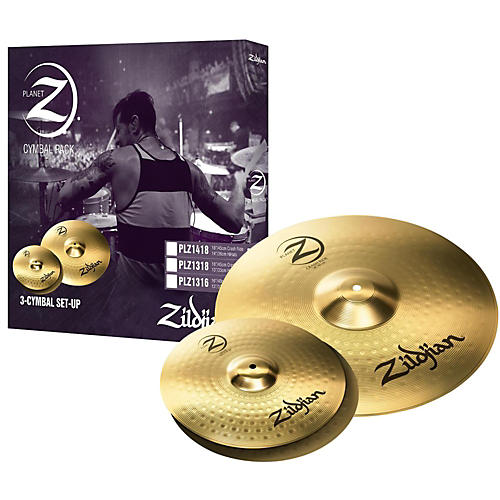 zildjian planet z 3 pack musician 39 s friend. Black Bedroom Furniture Sets. Home Design Ideas