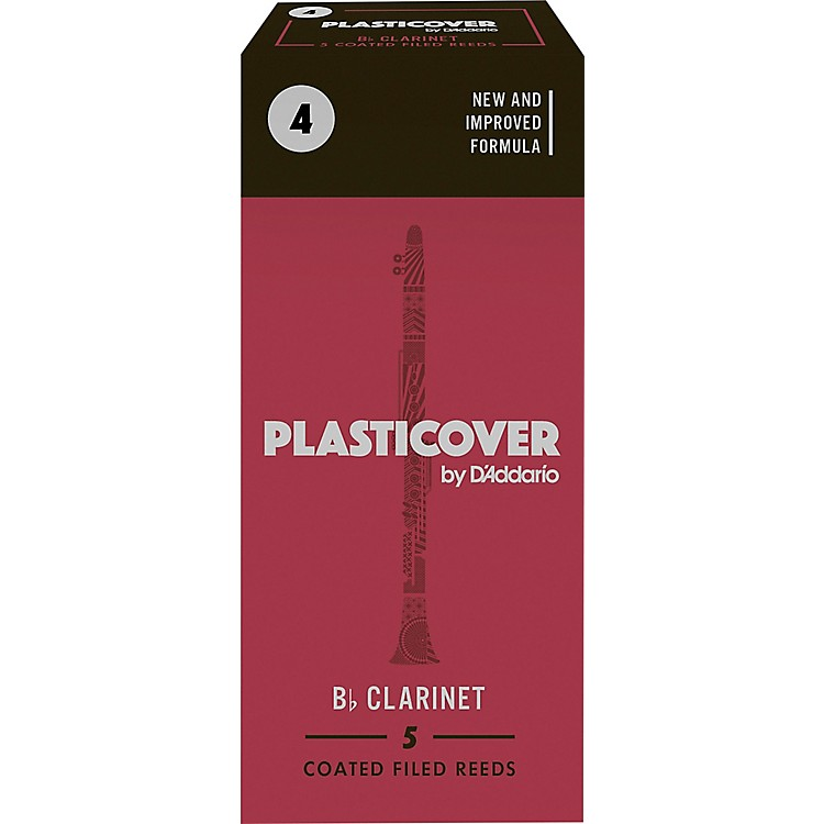 Rico Plasticover Bb Clarinet Reeds Strength 2 Box of 5
