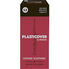 Rico Plasticover Soprano Saxophone Reeds Strength 1.5 Box of 5