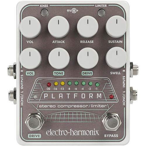 Electro-Harmonix Platform Stereo Compressor/Limiter Pedal-thumbnail