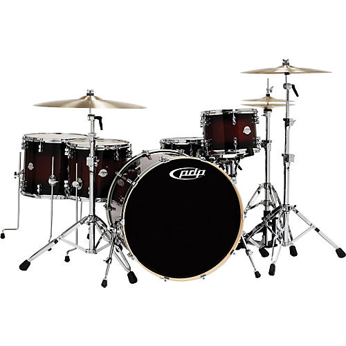 PDP by DW Platinum 5 Piece Rock Shell Pack