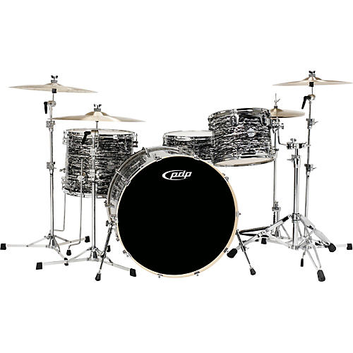PDP by DW Platinum Finishply Bass Drum with Tom Mount-thumbnail