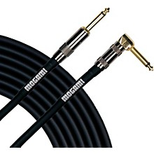 Mogami Platinum Instrument Cable with Right Angle to Straight End Connectors 6 ft. Right Angle to Straight