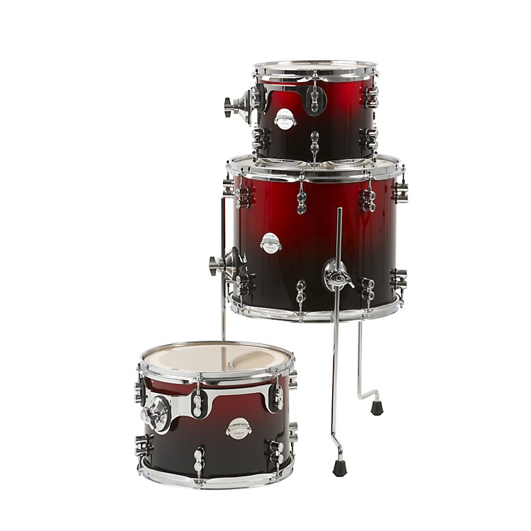 PDP Platinum Lacquer 3-piece Tom Pack