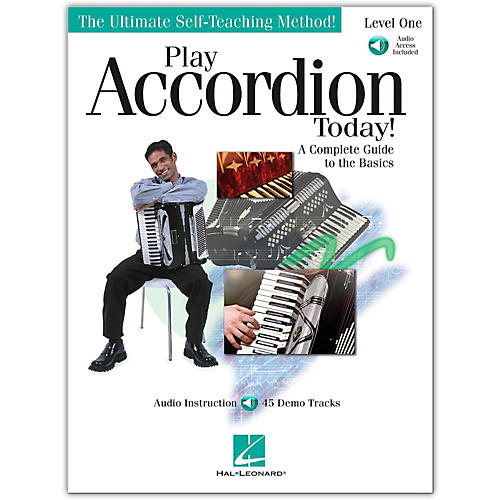 Hal Leonard Play Accordion Today! Level One (Book/Online Audio)-thumbnail