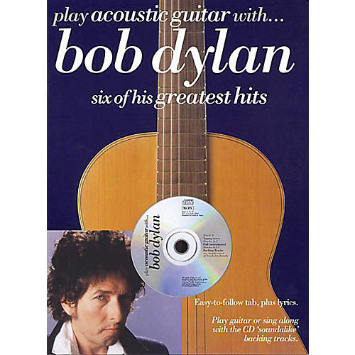 Music Sales Play Acoustic Guitar with ... Bob Dylan Music Sales America Series Softcover with CD by Bob Dylan-thumbnail
