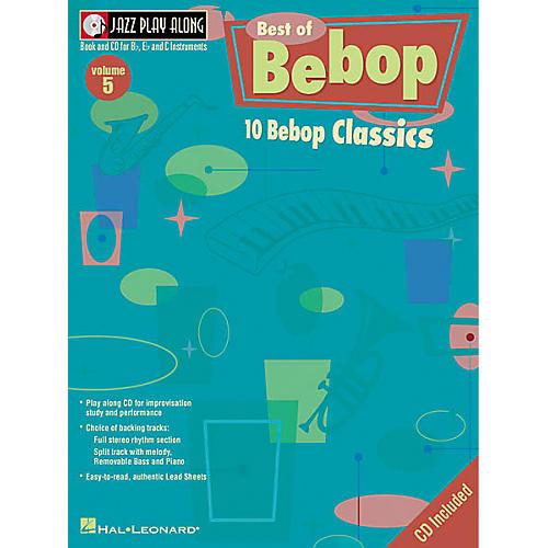 Hal Leonard Play Along Best Of BeBop (Book/CD)