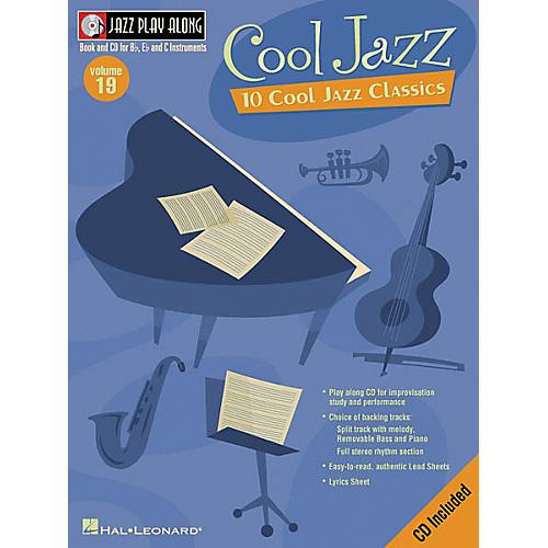 Hal Leonard Play Along Cool Jazz (Book/CD)-thumbnail