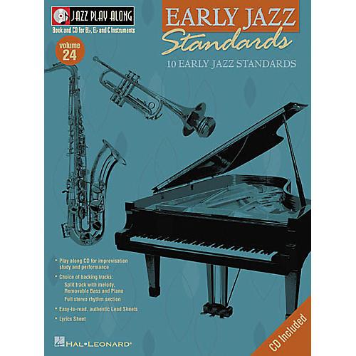 Hal Leonard Play Along Early Jazz Standards (Book/CD)