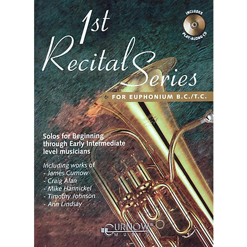 Hal Leonard Play-Along First Recital Series Book with CD