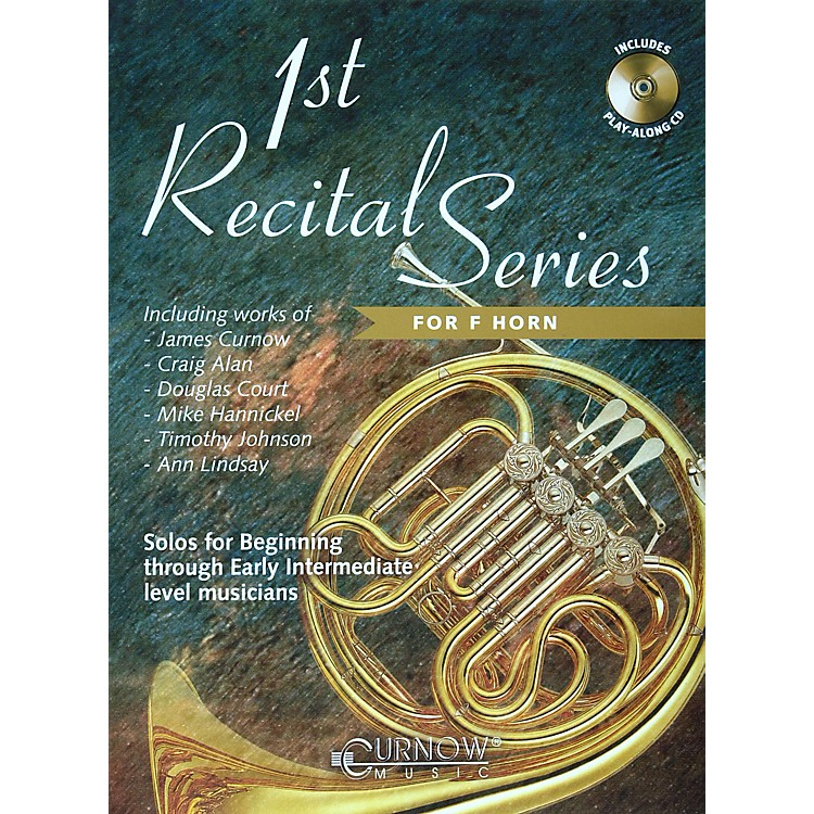 Hal LeonardPlay-Along First Recital Series Book with CDFrench Horn