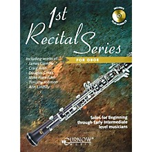 Hal Leonard Play-Along First Recital Series Book with CD Oboe