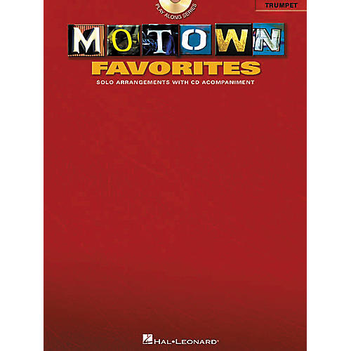 Hal Leonard Play-Along Motown Favorites Book with CD Viola