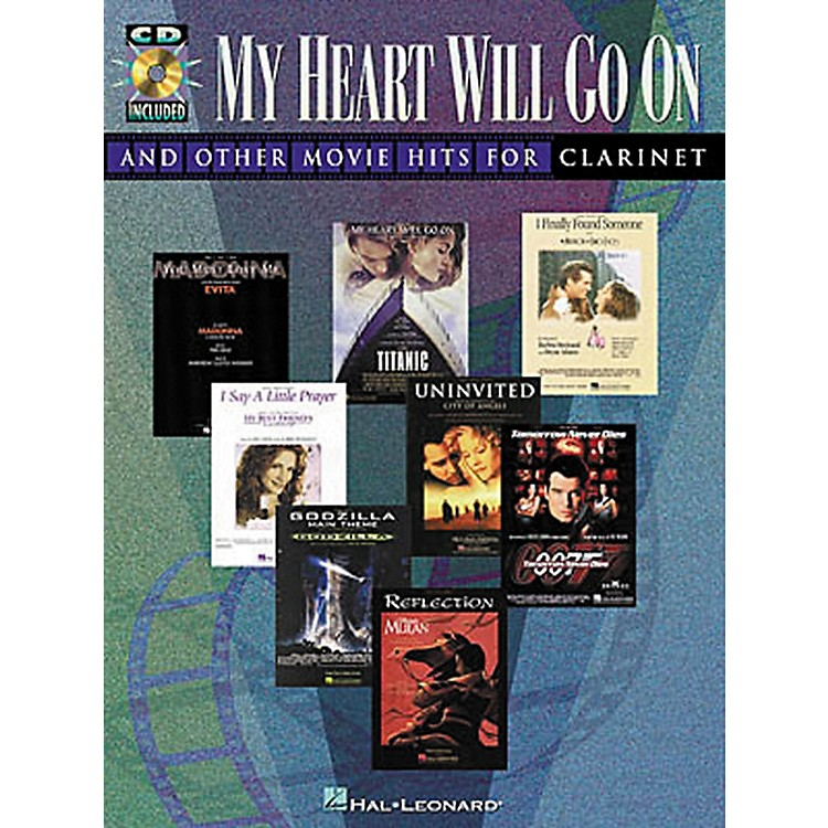 Hal Leonard Play-Along Movie Hits Book with CD Trumpet Clarinet