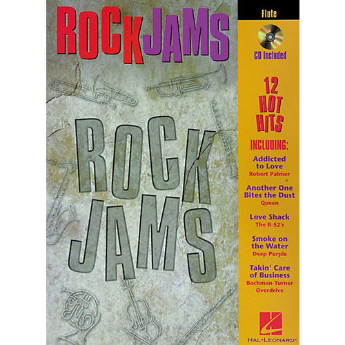Hal Leonard Play-Along Rock Jams Book with CD