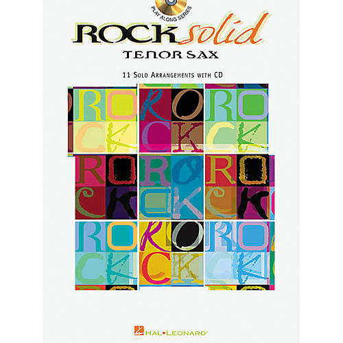Hal Leonard Play-Along Rock Solid Book with CD Viola