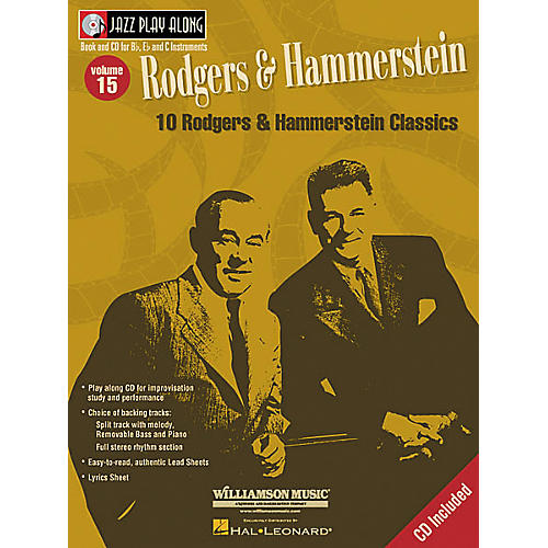 Hal Leonard Play Along Rodgers and Hammerstein (Book/CD)-thumbnail