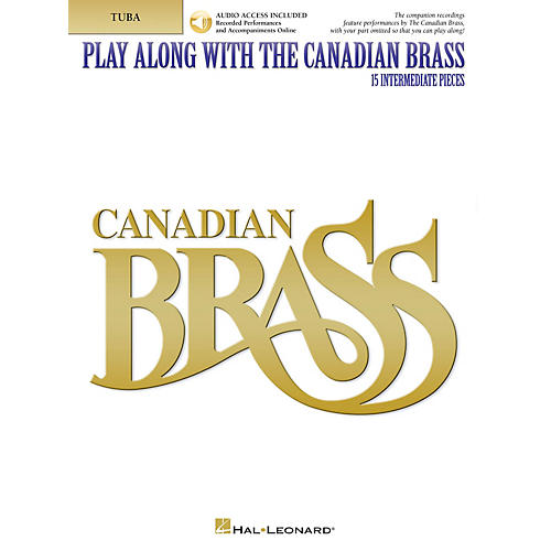 Canadian Brass Play Along with The Canadian Brass - Tuba (B.C.) Brass Ensemble Book/Audio Online by The Canadian Brass-thumbnail