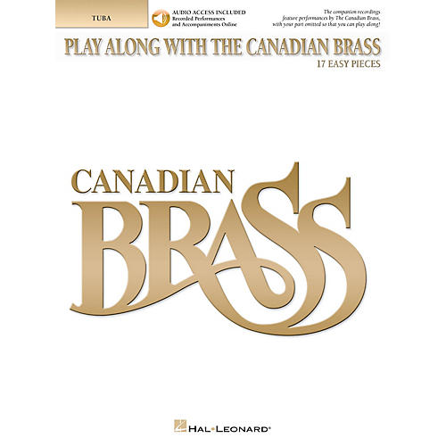 Canadian Brass Play Along with The Canadian Brass Brass Softcover Audio Online by The Canadian Brass Composed by Various-thumbnail