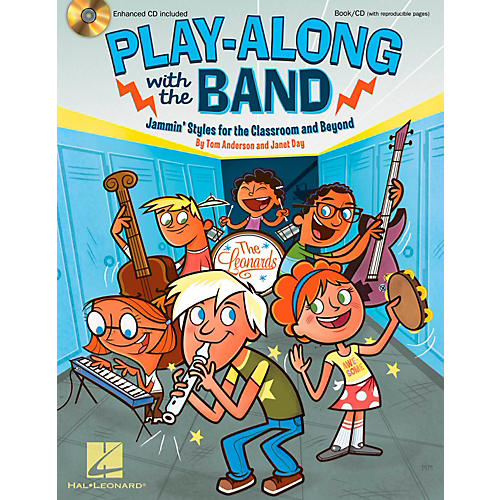 Hal Leonard Play-Along with the Band - Jammin' Styles for the Classroom and Beyond-thumbnail