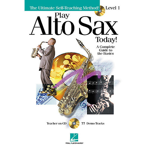 Hal Leonard Play Alto Sax Today! - Level 1 Play Today Instructional Series Book with CD by Various Authors-thumbnail