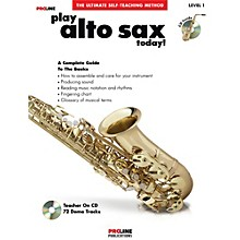 Proline Play Alto Sax Today Book/CD