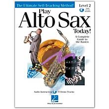 Hal Leonard Play Alto Sax Today! Level 2 CD/Pkg