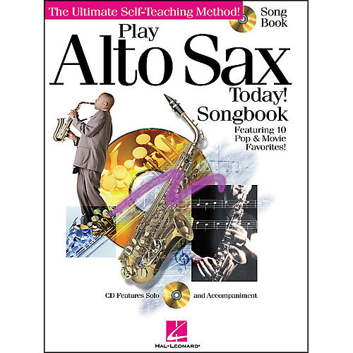 Hal Leonard Play Alto Sax Today! Songbook CD/Pkg