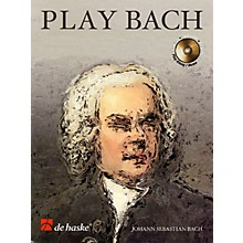 De Haske Music Play Bach De Haske Play-Along Book Series Softcover with CD