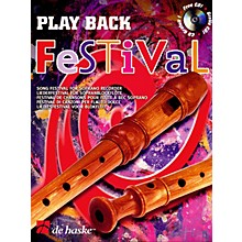 De Haske Music Play Back Festival (Song Festival for Soprano Recorder) De Haske Play-Along Book Series