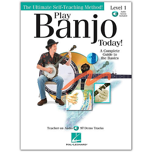 Hal Leonard Play Banjo Today! Level One - A Complete Guide To the Basics (Book/Online Audio)-thumbnail