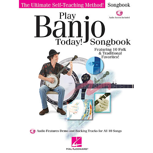 Hal Leonard Play Banjo Today! Songbook Play Today Instructional Series Series Softcover Audio Online by Various-thumbnail