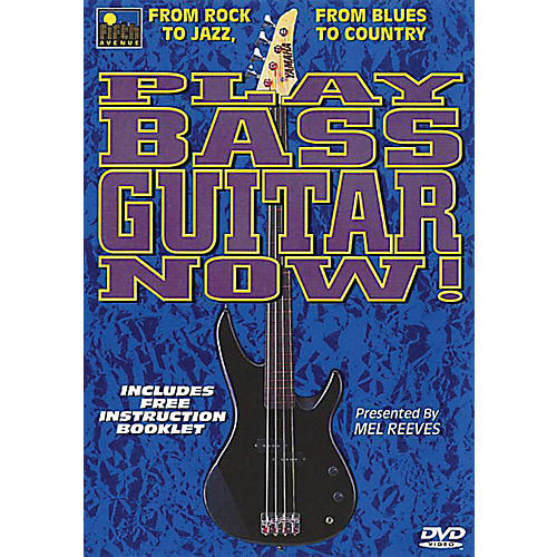 Music Sales Play Bass Guitar Now! Music Sales America Series DVD Written by Mel Reeves-thumbnail