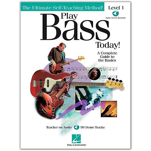 Hal Leonard Play Bass Today! - Level 1 Book/CD