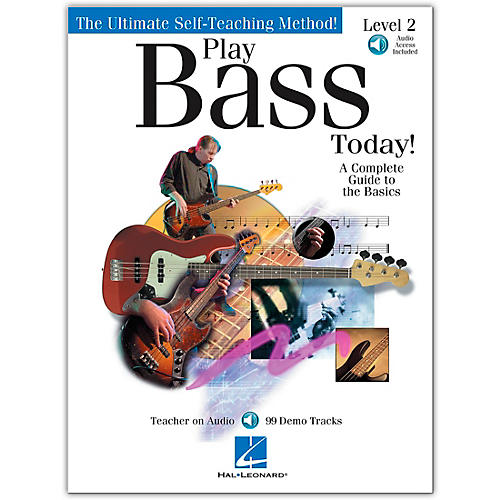 Hal Leonard Play Bass Today! - Level 2 (Book/Online Audio)