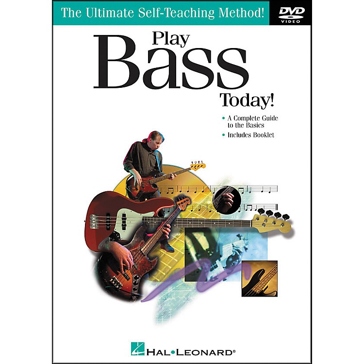 Hal Leonard Play Bass Today! DVD