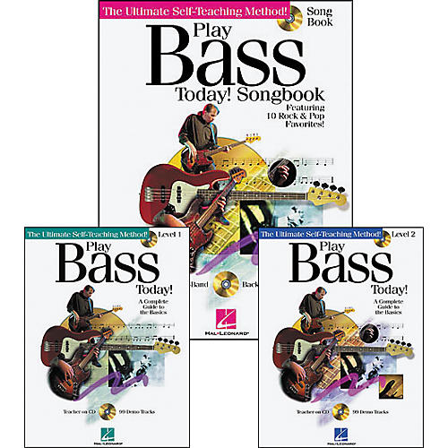 Hal Leonard Play Bass Today Pack (Book/CD)