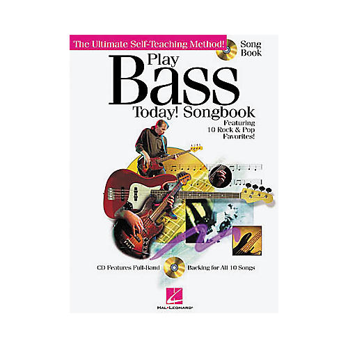 Hal Leonard Play Bass Today! Songbook