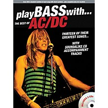 Music Sales Play Bass With The Best Of AC/DC (Book & 2 CDs)