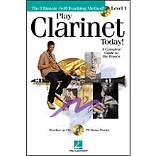Hal Leonard Play Clarinet Today! Level 1 CD/Pkg