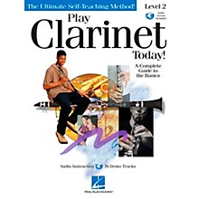 Hal Leonard Play Clarinet Today! Level 2 CD/Pkg