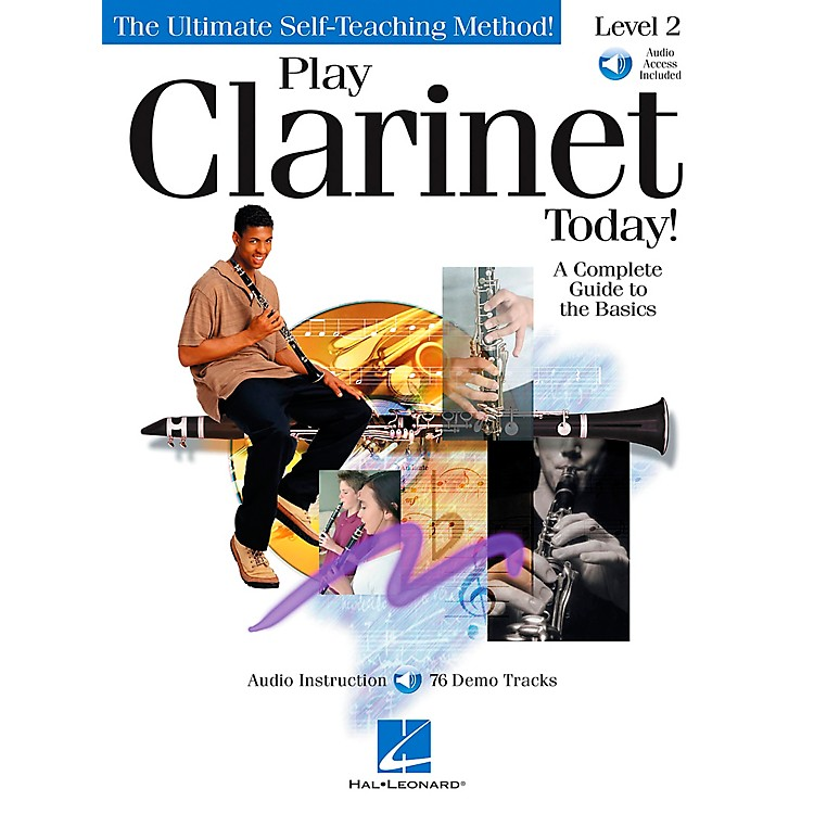 Hal Leonard Play Clarinet Today! Level 2 CD/Pkg