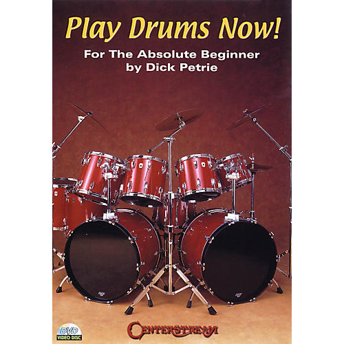 Centerstream Publishing Play Drums Now! A Complete Lesson In A Box Vol 1 (DVD) Instructional/Drum/DVD Series DVD by Dick Petrie-thumbnail
