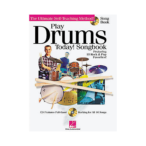 Hal Leonard Play Drums Today! Songbook/CD-thumbnail