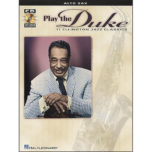 Hal Leonard Play Duke (11 Ellington Jazz Classics) for Alto Sax Book/CD Pkg