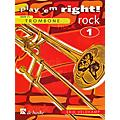 Hal Leonard Play 'Em Right Rock - Vol. 1 (Trombone) De Haske Play-Along Book Series Arranged by Erik Veldkamp-thumbnail