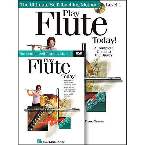 Hal Leonard Play Flute Today! Beginner's Pack - Includes Book/CD/DVD